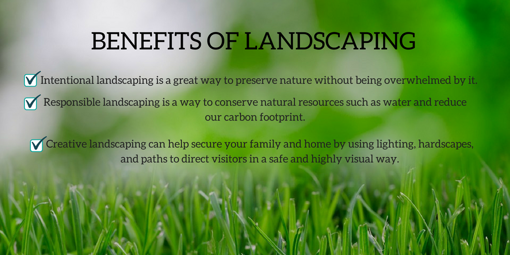 benefits of landscaping villa rica